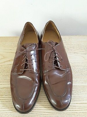 COLE HAAN AIR brown suede leather Oxford lace up men's shoes Size 11.5 M