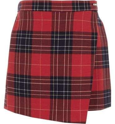b33ef57a5 River Island Girls red tartan skirt | Look in 2019 | Red tartan ...