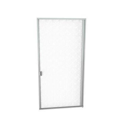 Redi Swing 1000 Series 32 13 16 In W X 70 In H Semi Frameless Pivot Shower Door In Brushed Nickel With Pull Handle In 2019 Shower Doors Glass Shower Doors Glass Shower