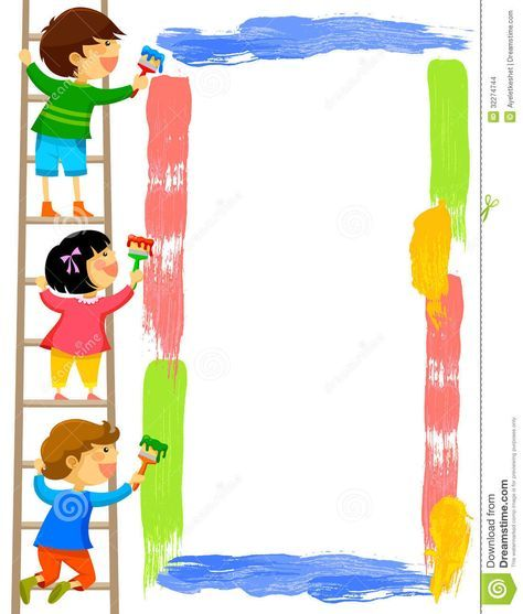 Kids Picture Frame Clip Art Clipart Panda Free Clipart Images