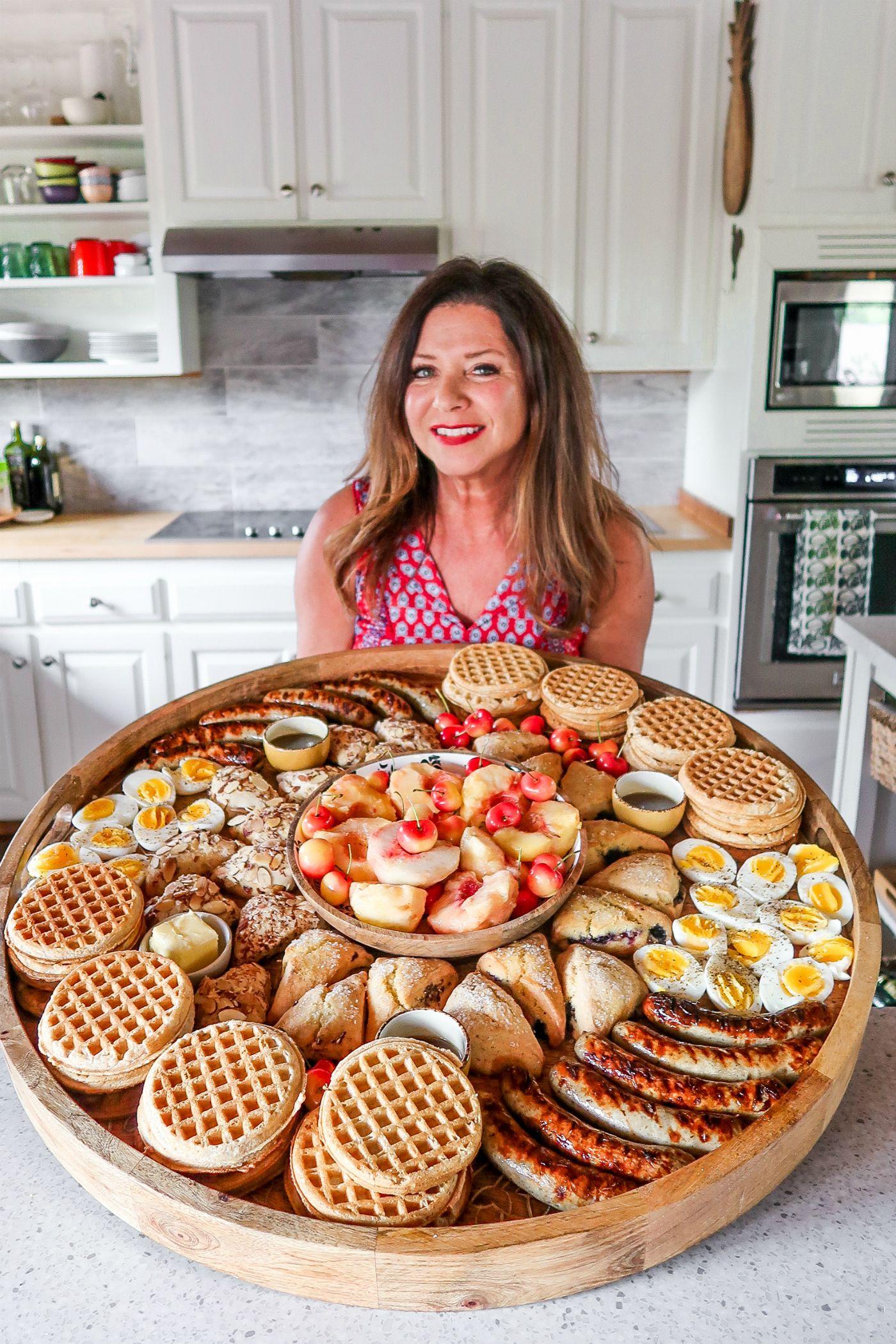 Epic Summer Waffle Brunch Board - Reluctant Entertainer