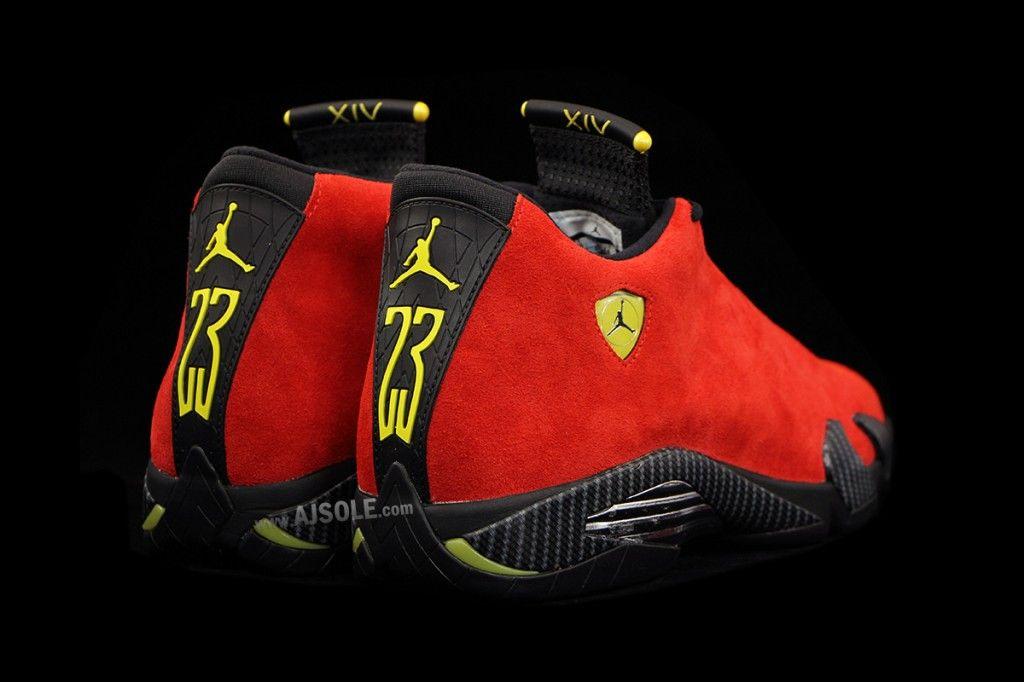 """Air Jordan 14 """"Ferrari"""" • EQUNIU"""