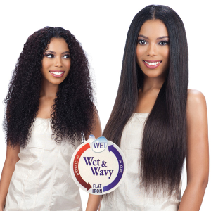 "MODEL MODEL NUDE FRESH WET & WAVY 100% BRAZILIAN VIRGIN REMY HAIR WEAVING BOHEMIAN CURL 7PCS (18"" 20"" 22"")"