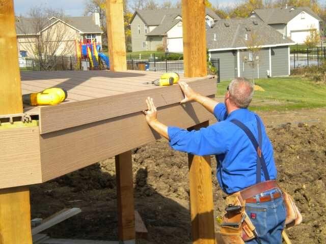 Composite Deck Finishing Edging Composite Decking 400 x 300