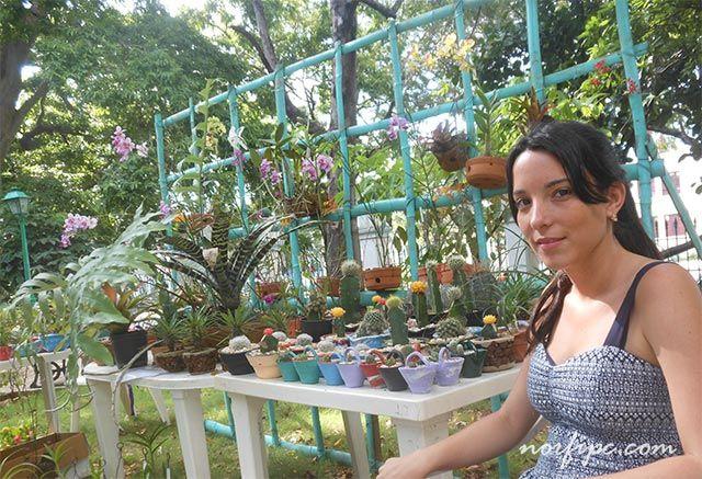 Expo-feria de plantas decorativas en la Quinta de los Molinos