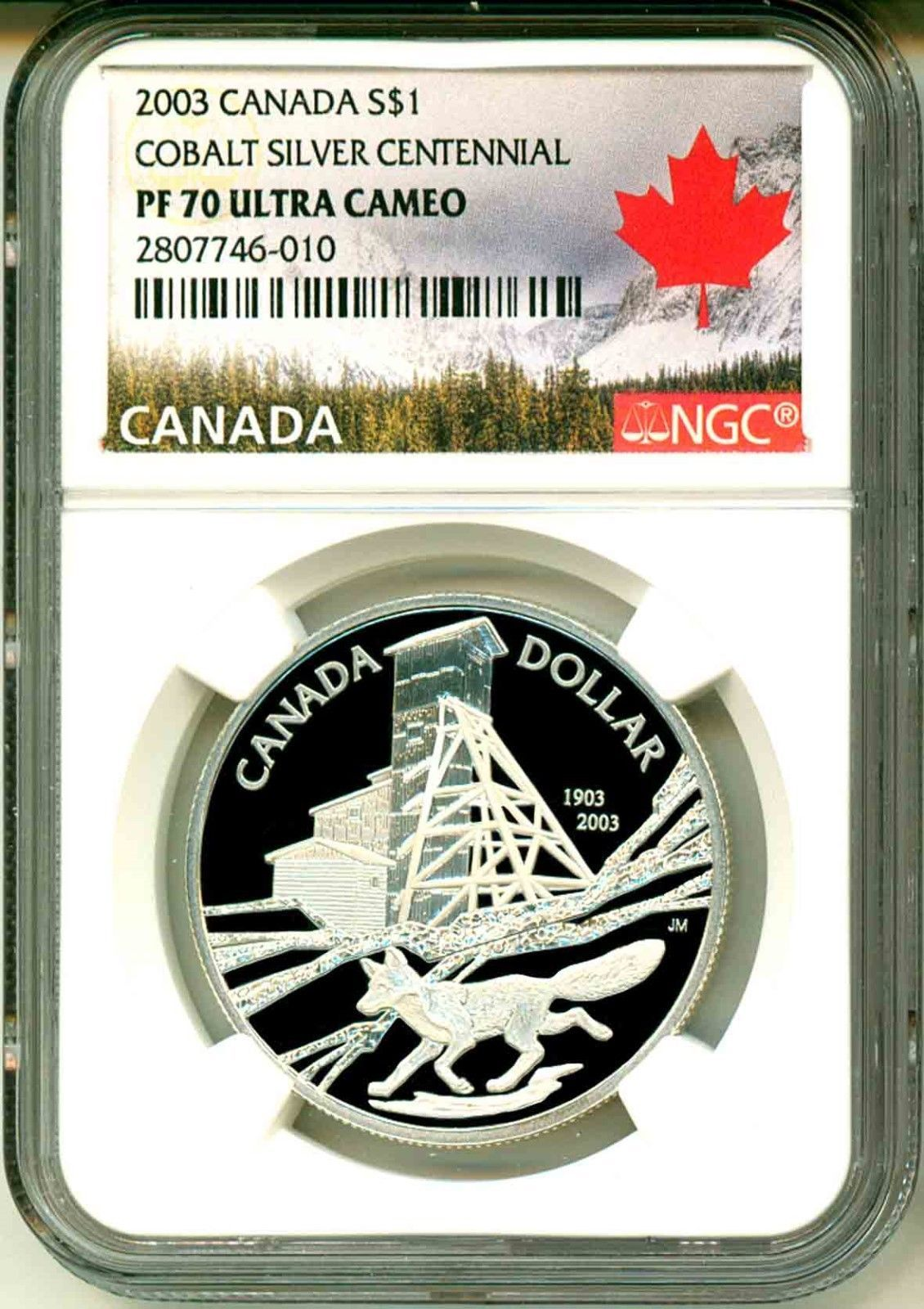 0667e7351f Item specifics Grade  PR 70 Denomination   1 Certification  NGC  Country Region of Manufacture  Canada Year  2003 Certification.