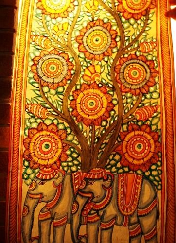 Decor~Wall Art « An Indian Summer Bazaar Details: The Design Is Made Using
