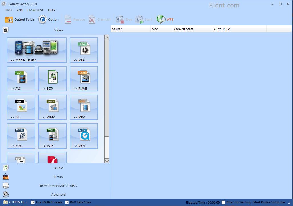 Format Factory 3 0 Windows 7 Compatible Xadebar Dummies Book 2017 Card Video Source