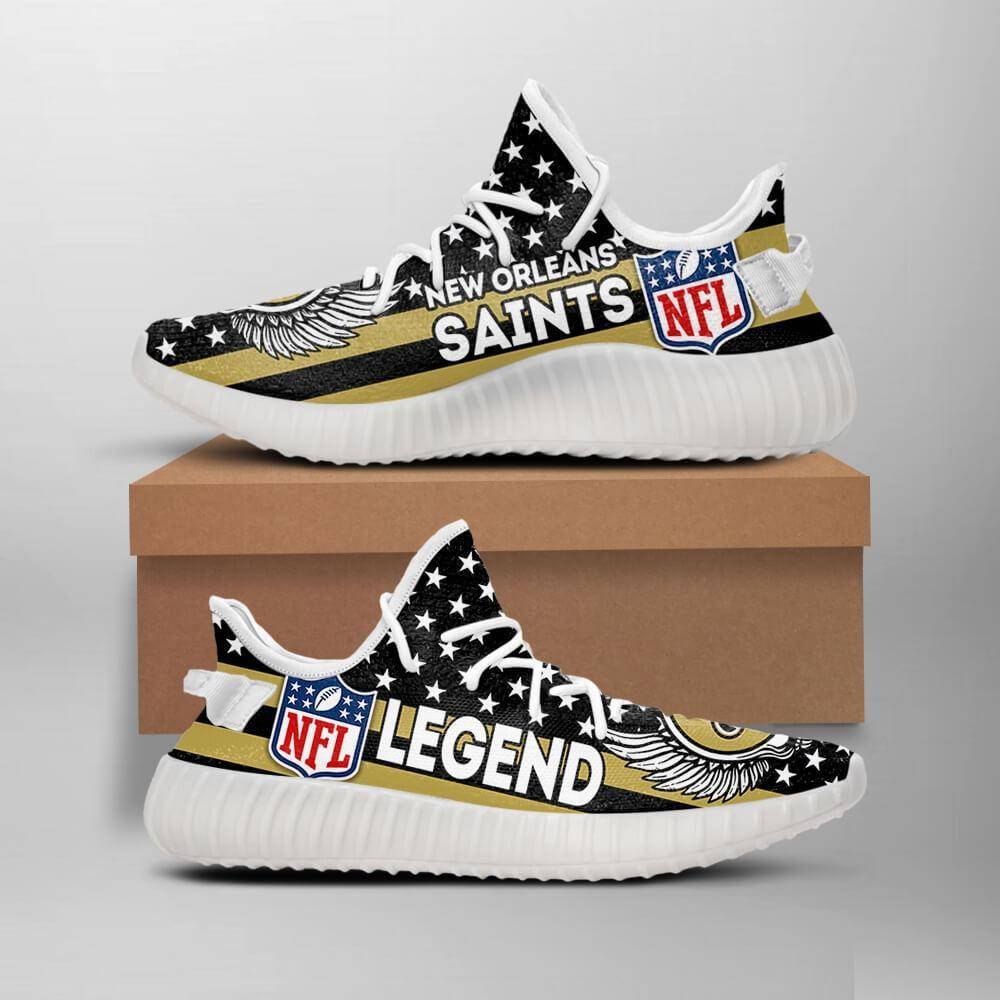 New Orleans Saints Legend Nfl Like Yeezy Saints Shoes Geek Tarven Likeyeezyshoes Neworleanssaints Nfl Lightweight Viking Shoes Nfl T Shirts Nfl Shirts
