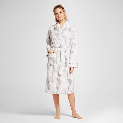4b6c0c854e Women s Faux Fur Robe - Gilligan   O Malley™   Target