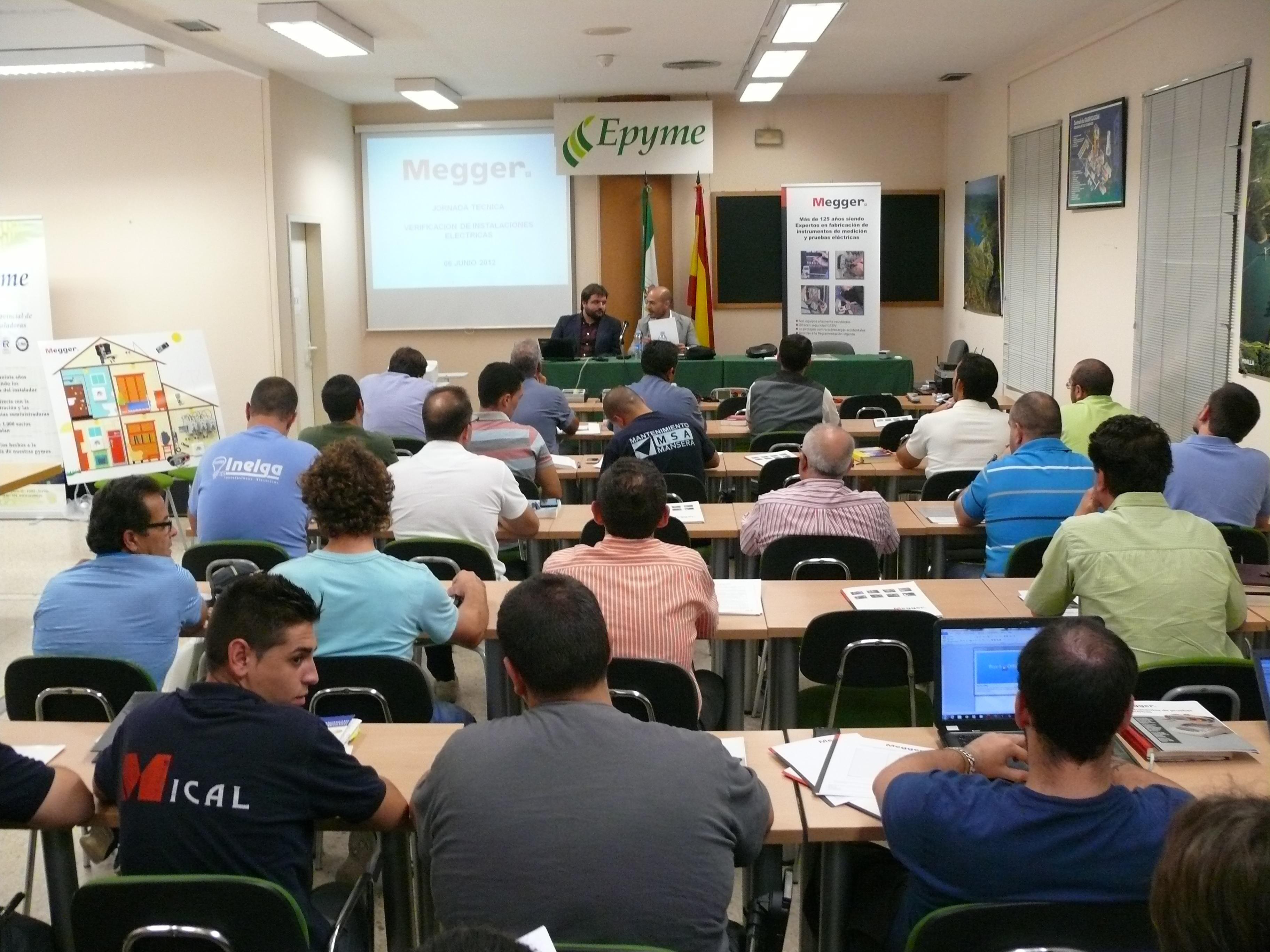 Instaladores de Sevilla asociados a EPYME