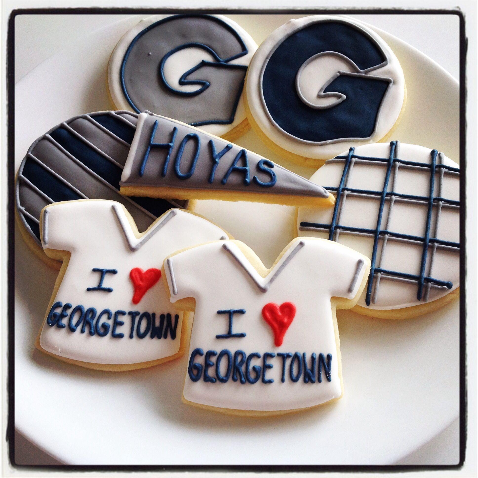 Georgetown Hoyas Cookies
