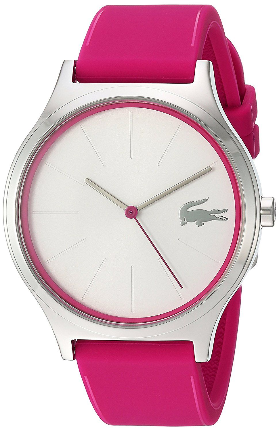 5bb4e6cee01 Lacoste Women s  Nikita  Quartz Stainless Steel and Silicone Casual Watch