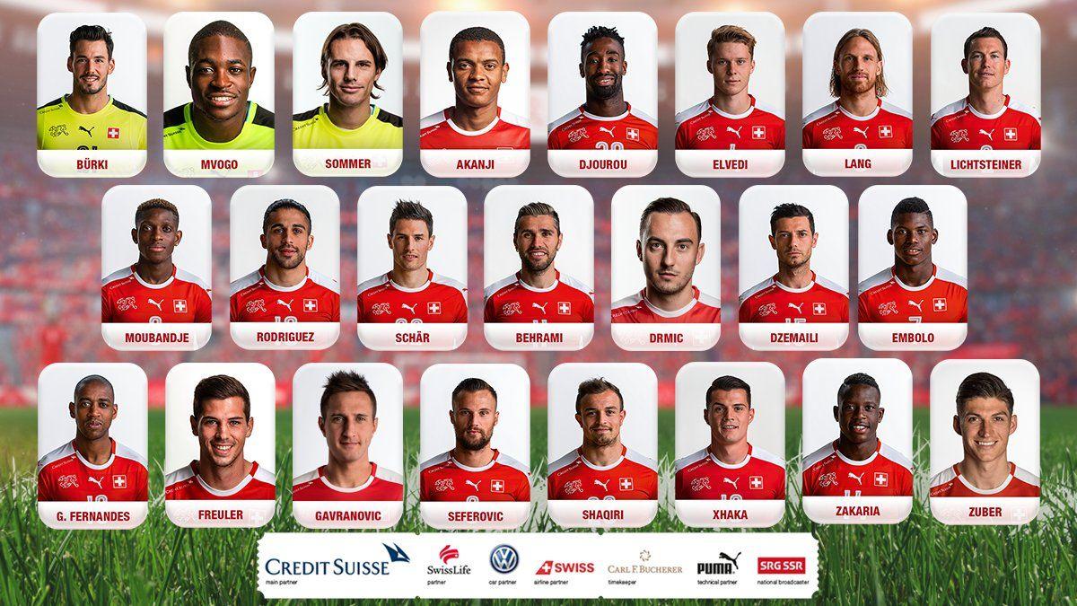 Fifa World Cup 2018 Switzerland Final Squad Announced World Cup 2018 Fifa Russia World Cup