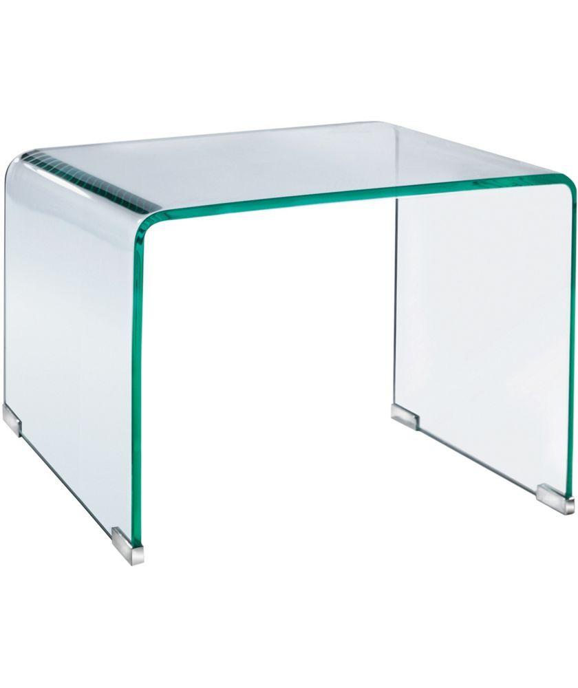 Buy habitat gala glass side table at argoscouk your