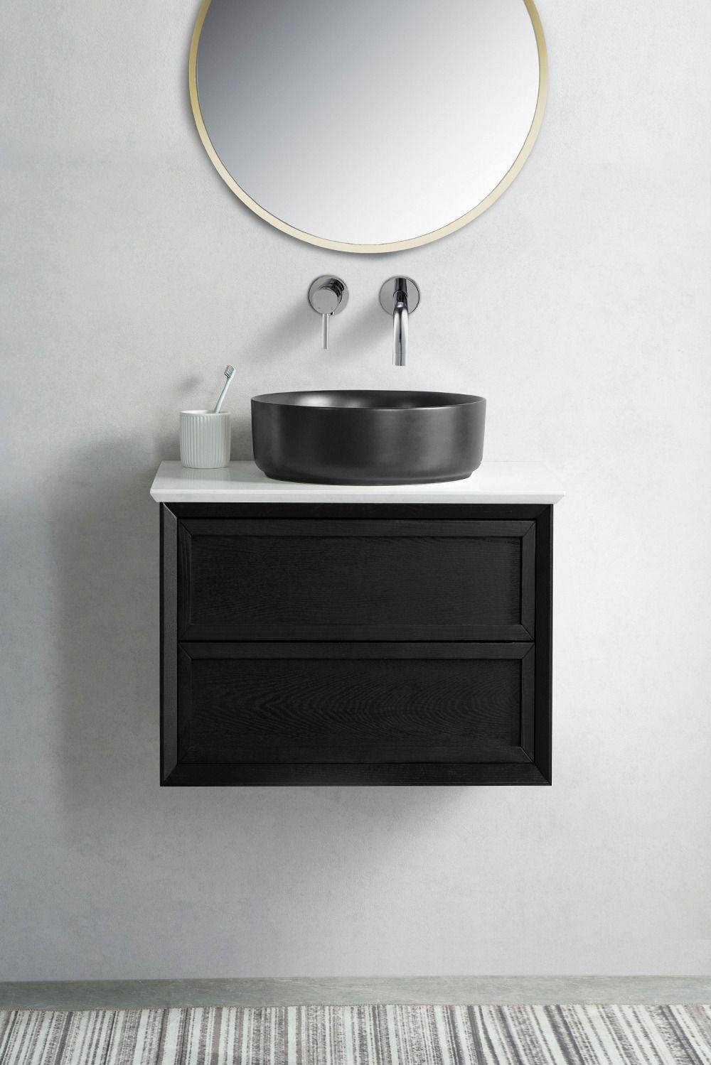 Penley 60 Quartz Top Wall Hung Vanity In 2020 Wall Hung Vanity Wall Hung Bathroom Vanities Solid Wood Cabinets