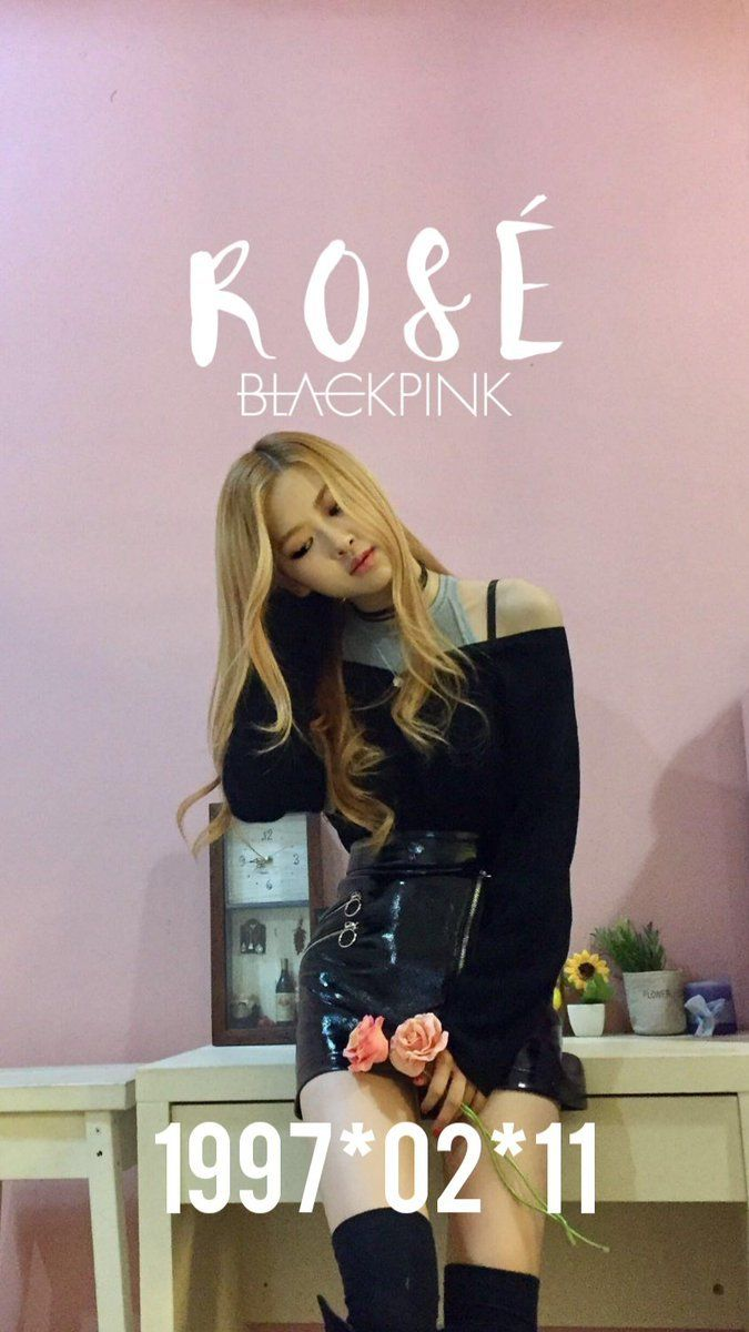 Rose Wallpaper Black Pink Rose Blackpink Rose Wallpaper