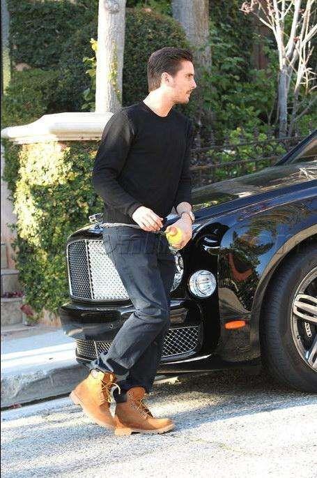 Reality TV star Scott Disick owns a Bentley Mulsanne.