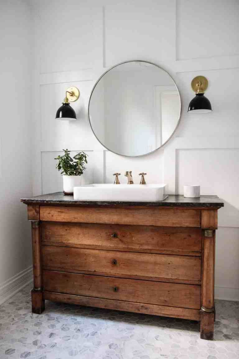 Modern Vintage Bathroom Inspiration