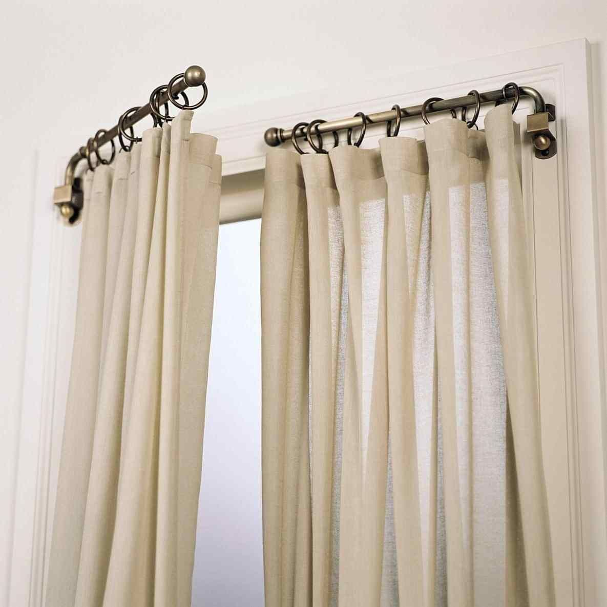Image Result For French Return Curtain Rods Unique Window
