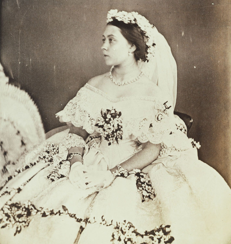 Empress victoria when princess royal in her wedding