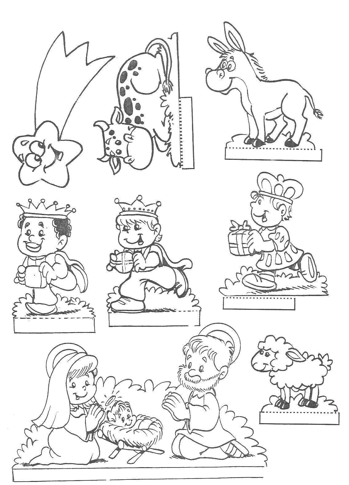 Presepe Fai Da Te Per Bambini Foto Nanopress Donna Avec Presepe Da