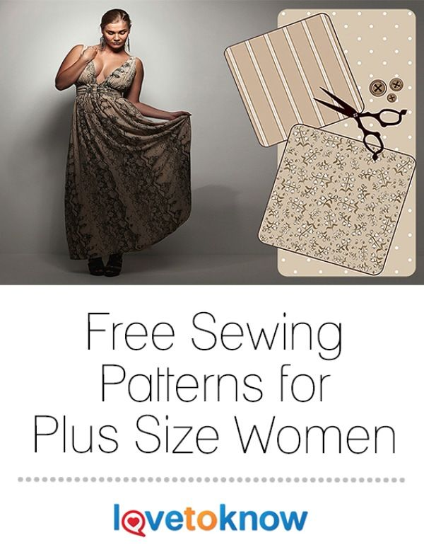 Free Sewing Patterns For Plus Size Women Full Figured Free