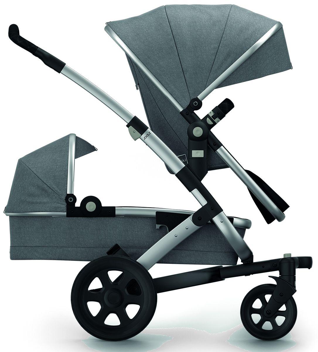 Joolz Geo 2 Studio Duo Stroller Graphite Kinderwagens