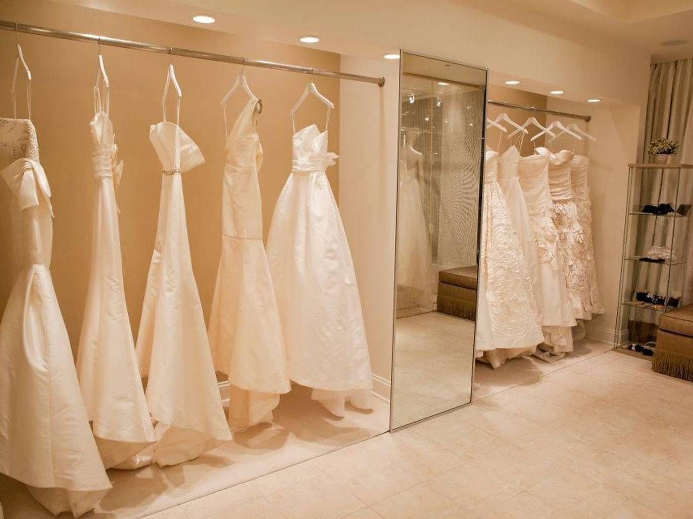 Best bridal shops in Chicago Bridal boutique interior