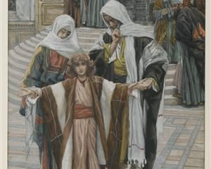 Jesus Found in the Temple, Tissot
