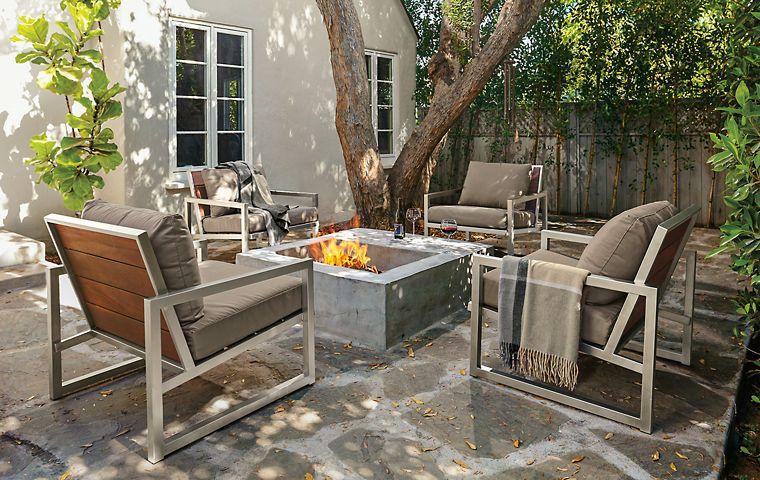 Wonderful Modern Outdoor Furniture   Room U0026 Board