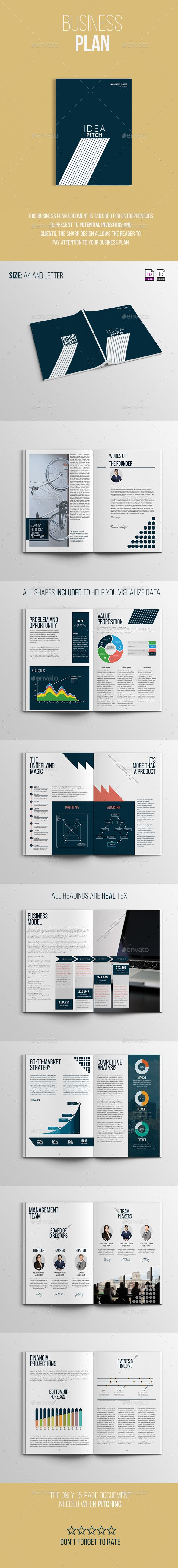 Business Plan Business Planning Business Proposal And Proposals - Business plan template indesign