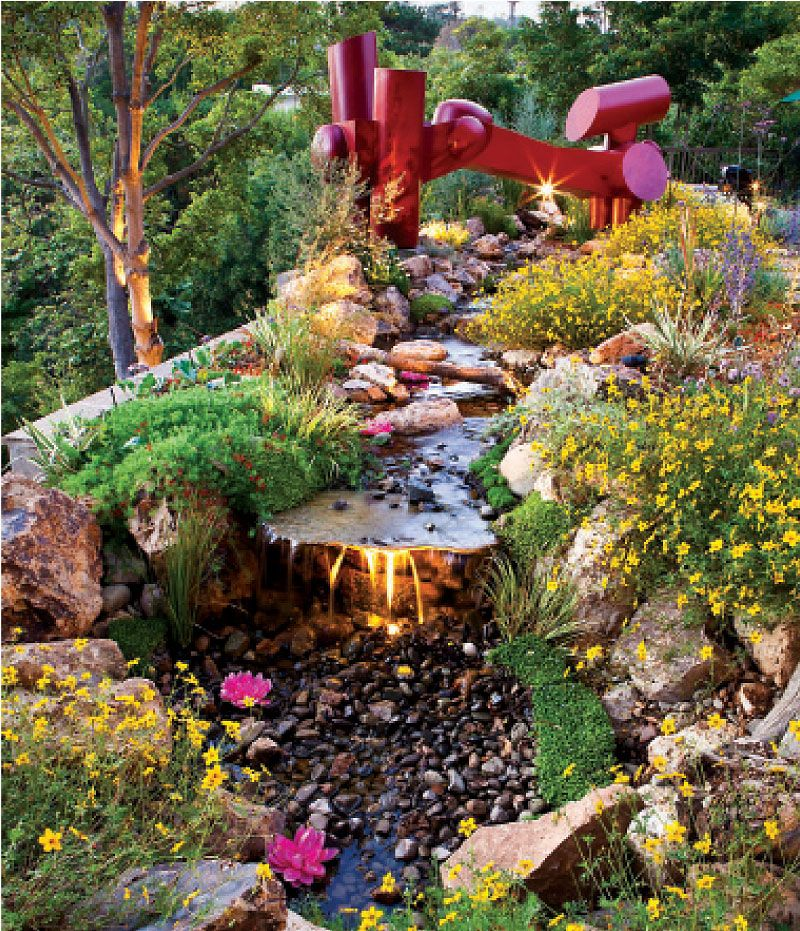 Southern california hillside landscaping to replace boogievilia