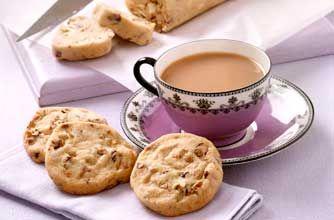Salted pecan cookies
