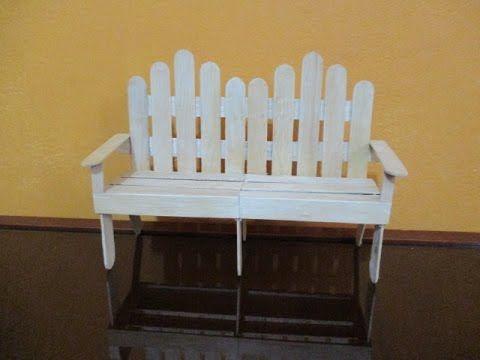 Cómo hacer una mesa para muñecas con palítos bajalengua ? - YouTube ...