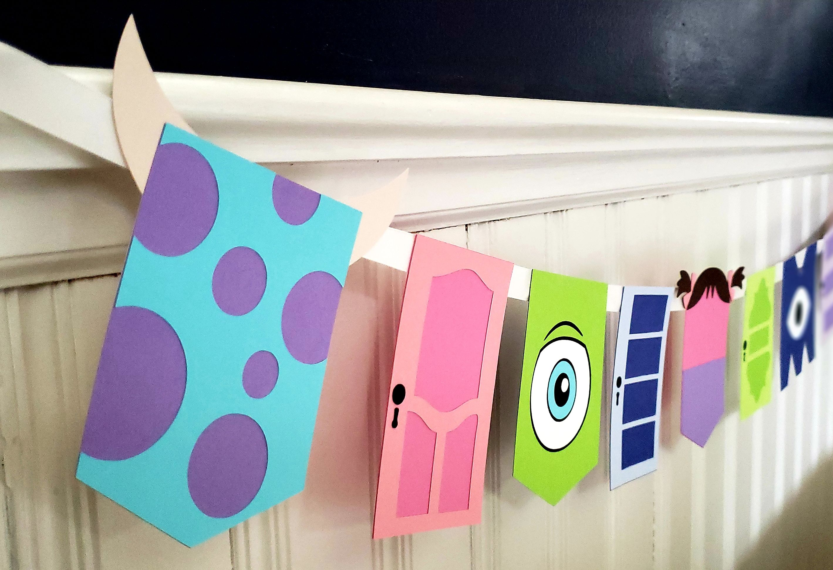 Monsters Inc Banner Monsters Inc Birthday Monster S Etsy Monsters Inc Baby Shower Monster Inc Party Monsters Inc Baby