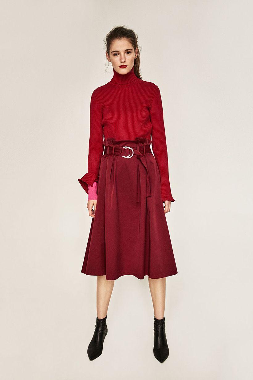 毫不老土!穿起這些 Zara 的紅色單品時尚又精緻,會令人想把它們都帶回家