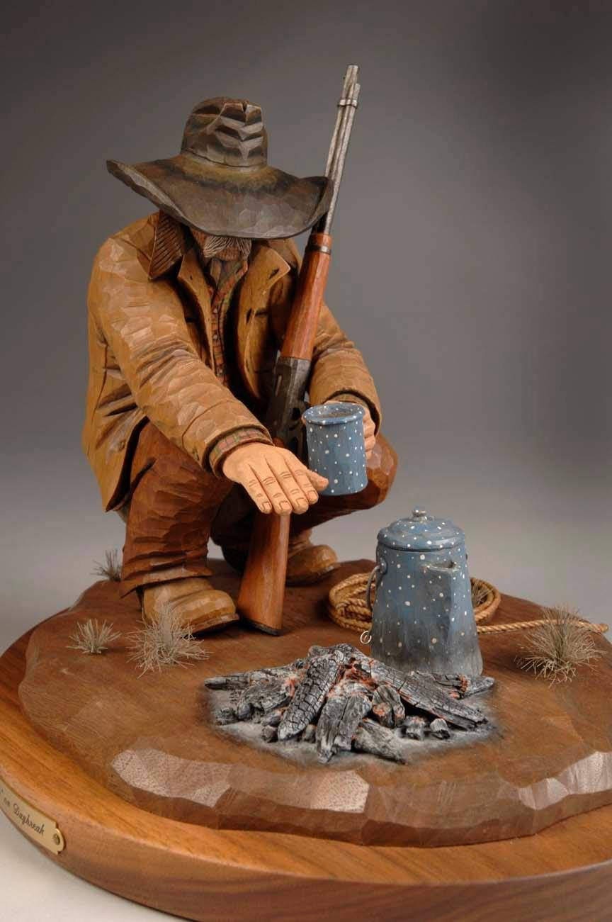 Sitting by the fire carving carvings pinterest wood