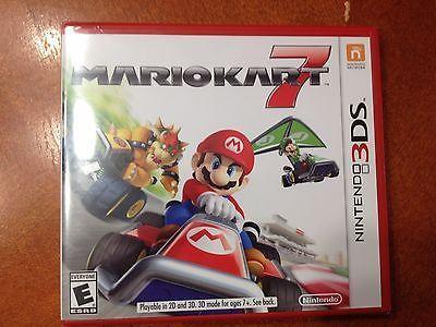 Nintendo 3DS 3D 2DS Mario Kart Cart 7 Solo Multiplayer Online Kids Racing Game