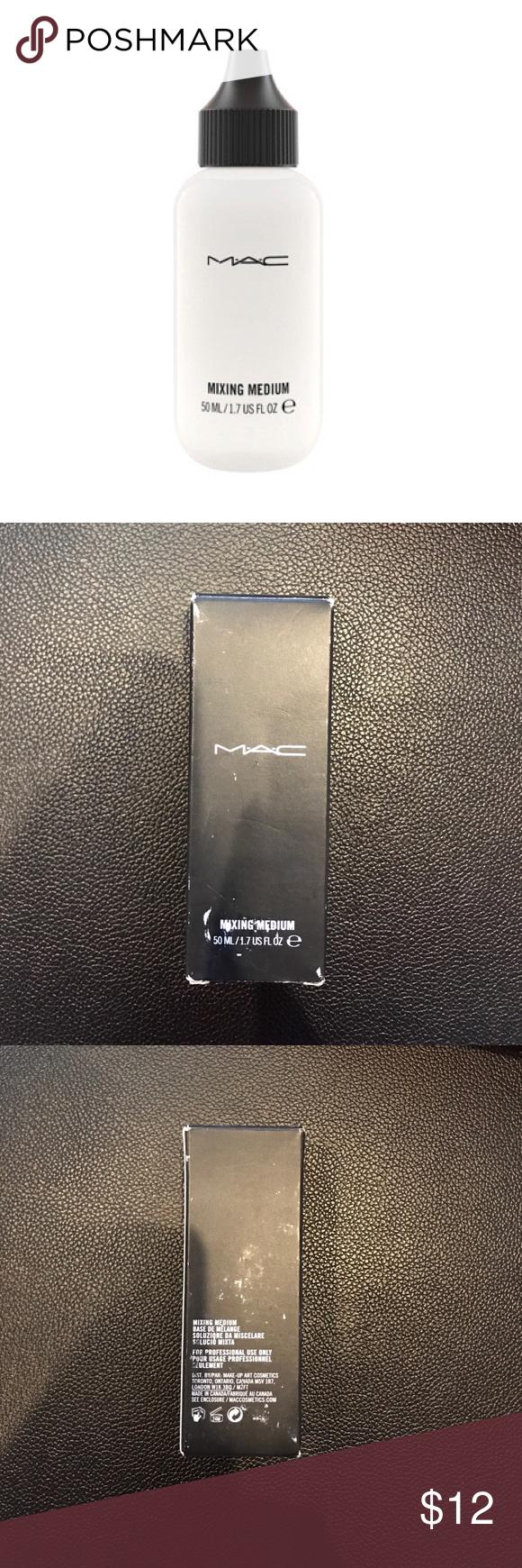 MAC Water Base Mixing Medium NWT Liquid makeup, Loose