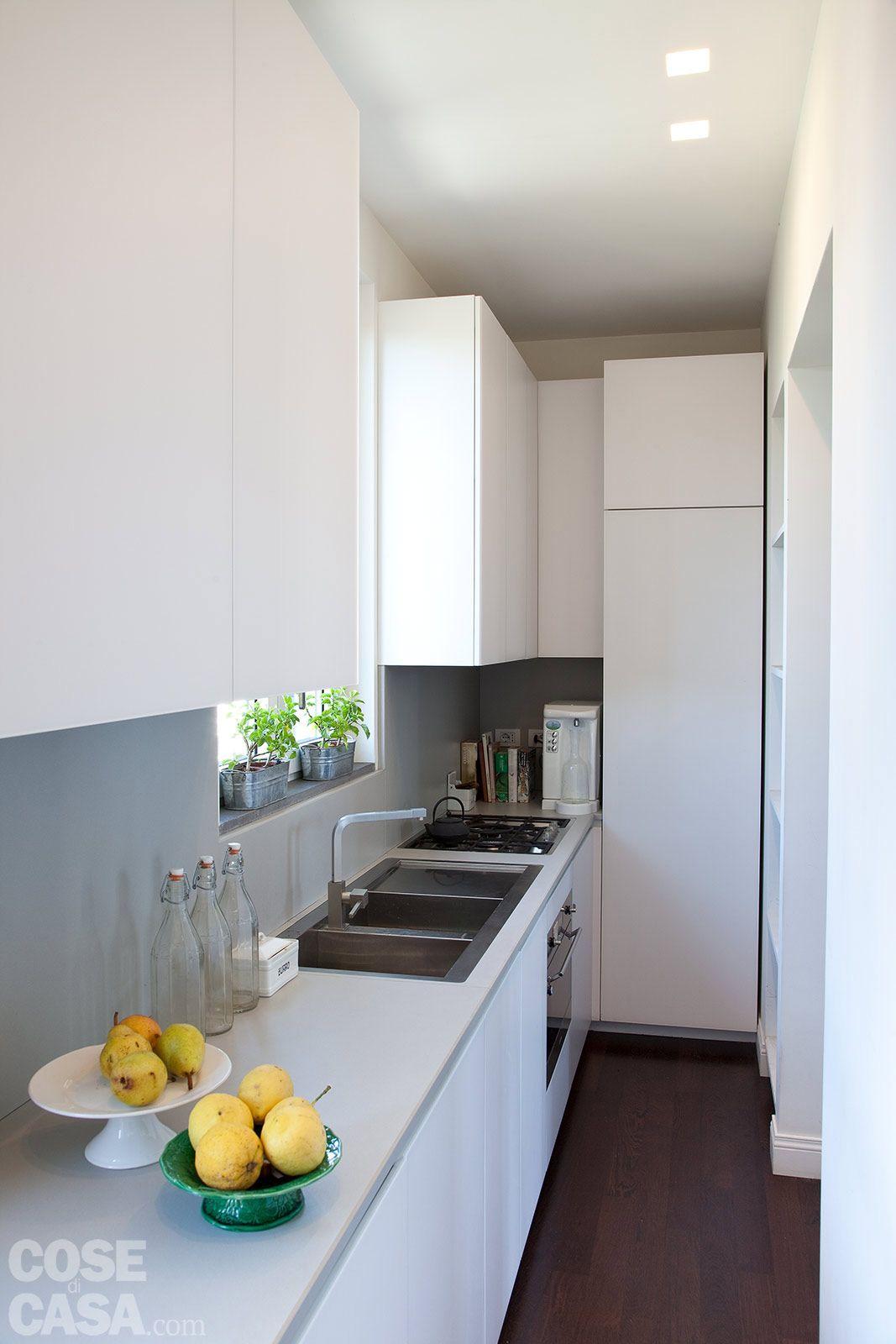 Casa: 14 mq in più per il bilocale | Cucina, Small spaces and Spaces