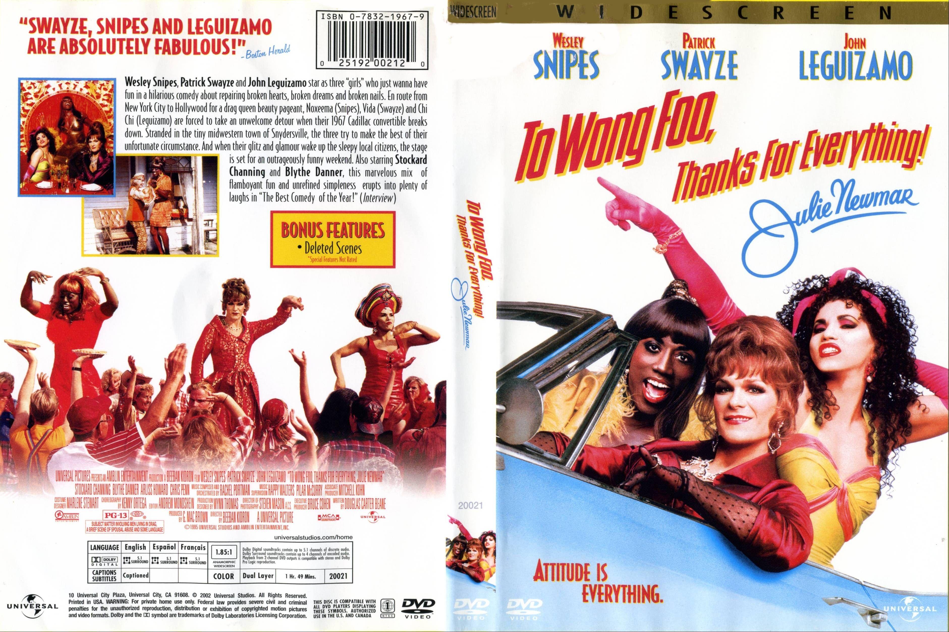 Para Wong Foo Filmes