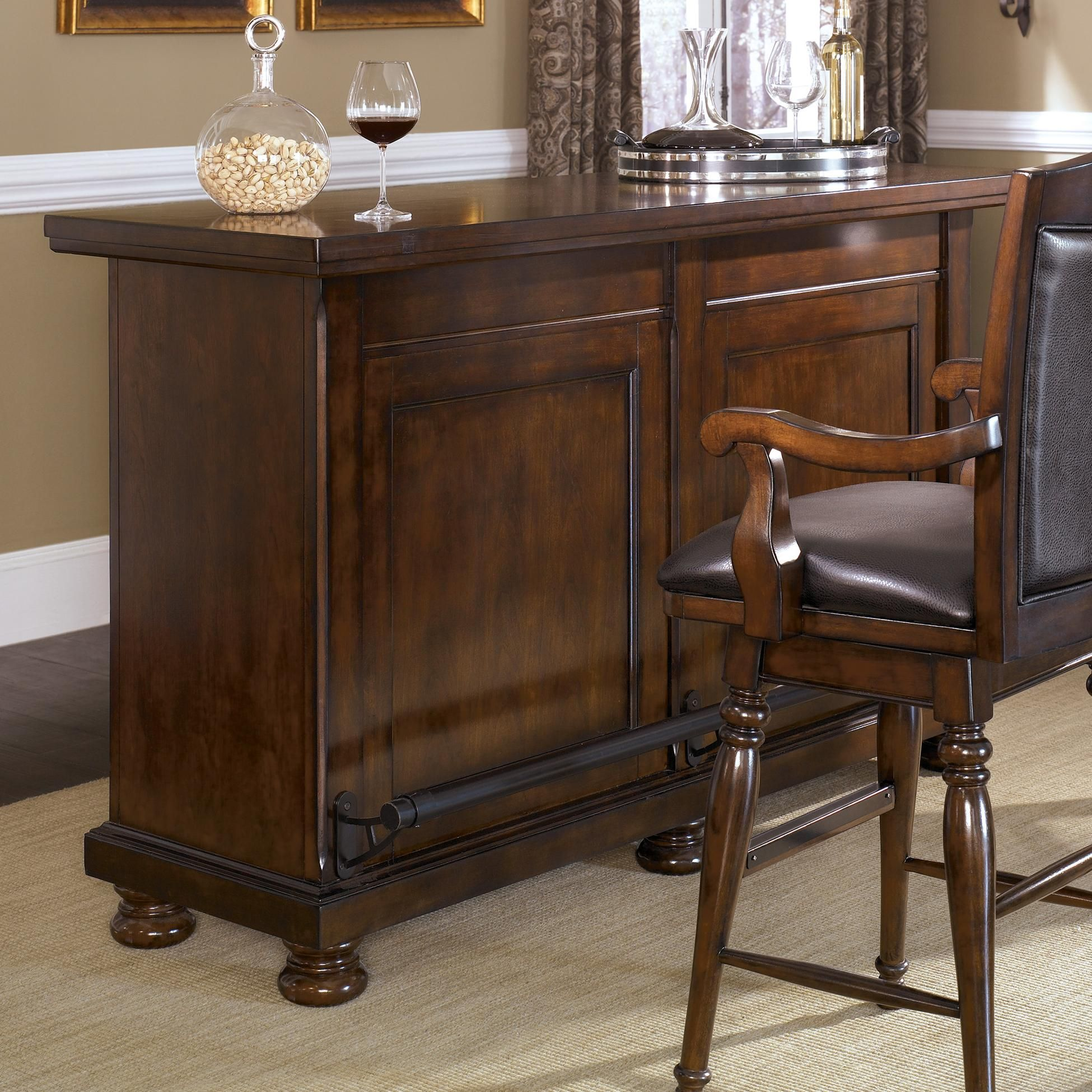 Porter Bar By Ashley Furniture At Gill Brothers Furniture Muncie  # Muebles Humanos