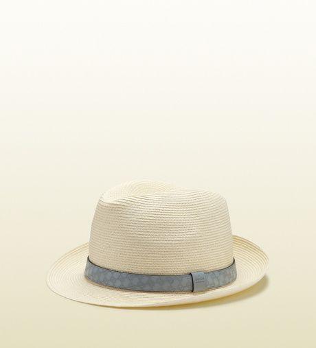 f6c0aadcbbb Men s Natural Straw Fedora Hat