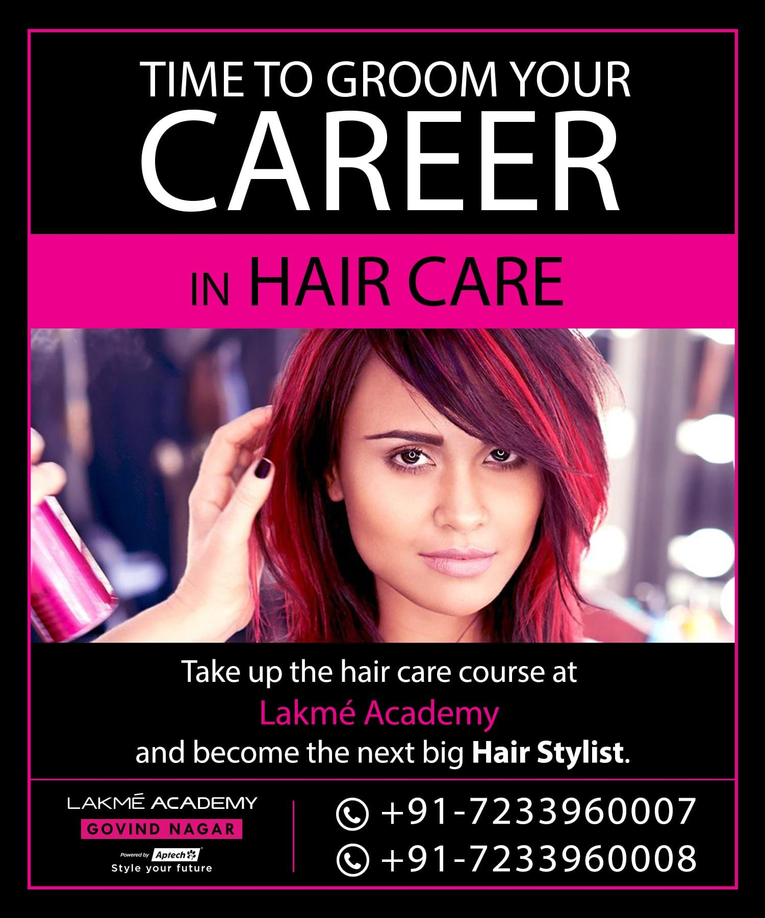 Master the art of hairdressing, hair styling, and hair