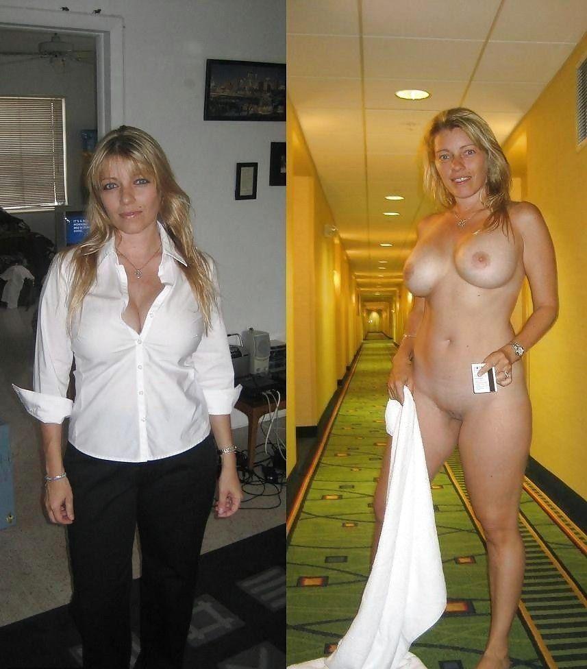 amature dressed  undressing