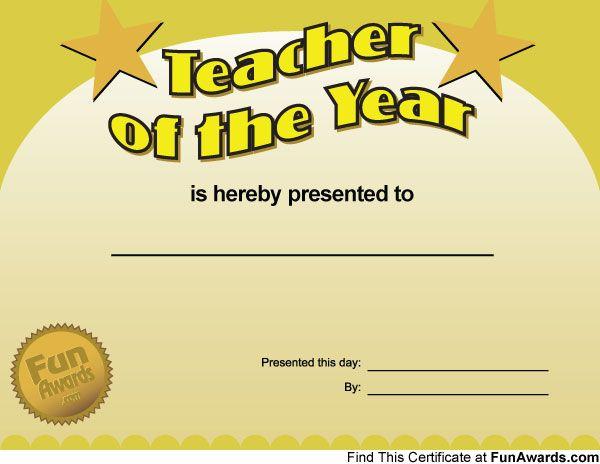 u0026quot teacher of the year u0026quot  fully