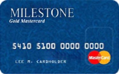 Milestone Gold MasterCards are used by many to fulfill their