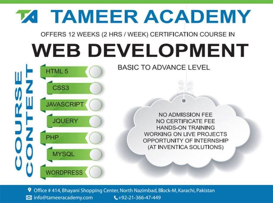 WEB DEVELOPMENT COURSE ** This course is for those who want to learn ...