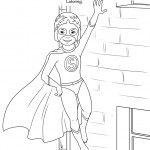 Coloring Page Daisy Girl Scouts Girl Scout Leader Girl Scout Law